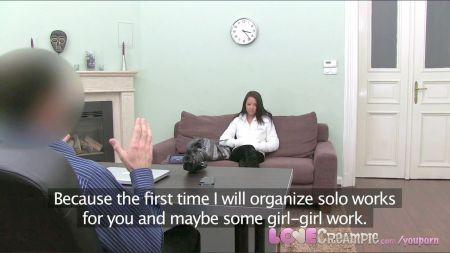Muller Traindo Marido Con Pau Grandi