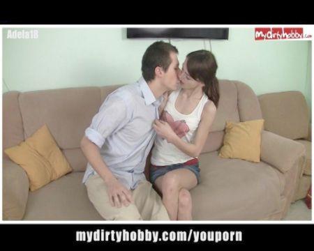 Gordito Cojiendo A Su Novia Por Webcam