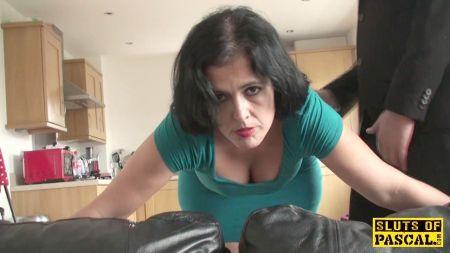 Video De Rubia Con Viejo Gordo