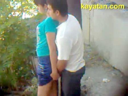 Travesti En Lenceria Se Masturba