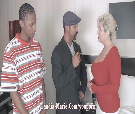 Mi Mujer Con Un Masajista Negro
