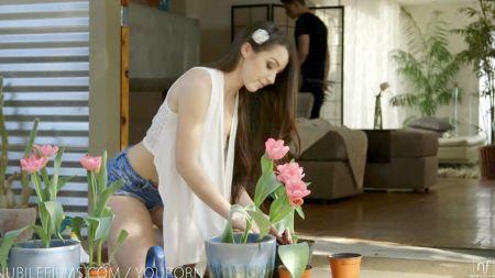 Angelina Valentine Come Coño A Tetona Rubia
