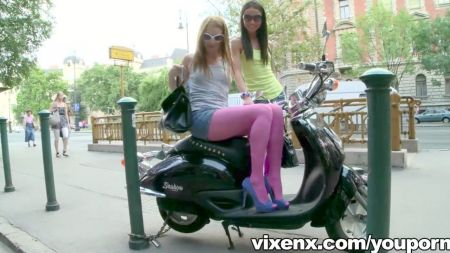 Trio Real Novia Lesbiana Prostituta